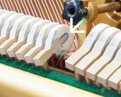 Búa đàn Piano Yamaha U2H