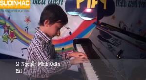 buổi biểu diễn đàn piano cuối khóa suối nhạc quang trung