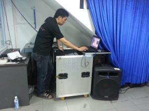Setup âm thanh