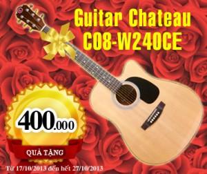 dan guitar Chateau C08-W240CE
