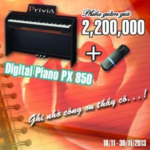 Digital piano PX850