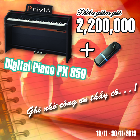 Digital piano PX850