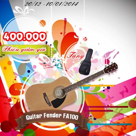 Guitar Fender FA100