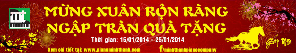 Bandroll KM Xuan Giap Ngo Cong ty Minh Thanh Piano