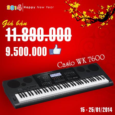 Casio WK7600