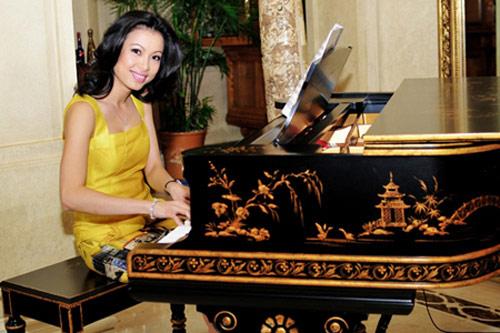 Chiếc đàn piano có một không hai của Ngô Mỹ Uyên