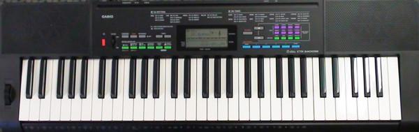 Kết quả hình ảnh cho Đàn organ Casio CTK-3400