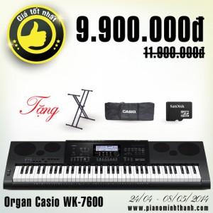 đàn organ wk-7600 giảm giá