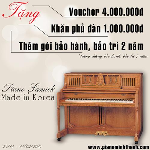 dan piano acoustic khuyen mai