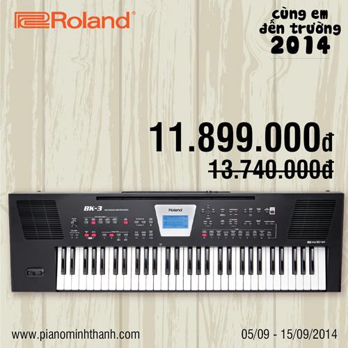 khuyenmai dan organ Roland BK-3