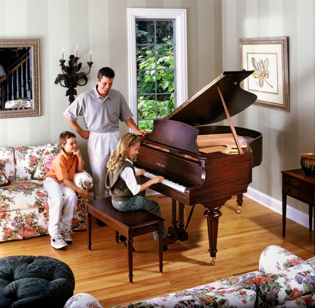 Phong thuy dan piano