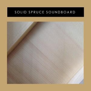 EdCenter Solid Spruce Soundboard 1800