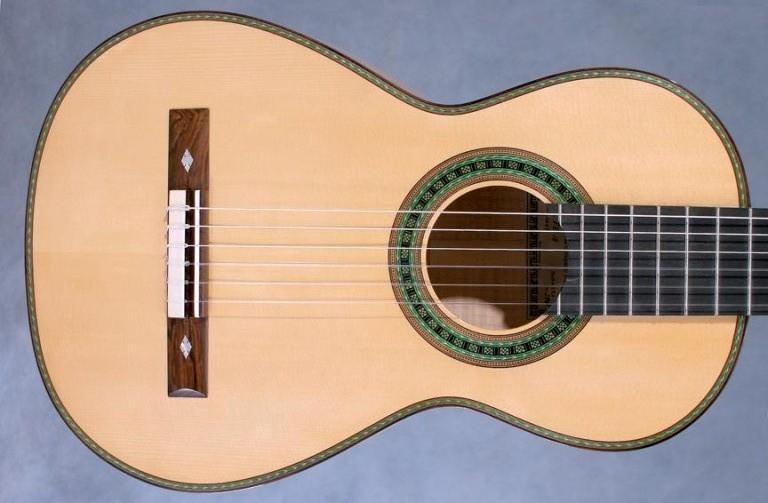 cau truc guitar Torres