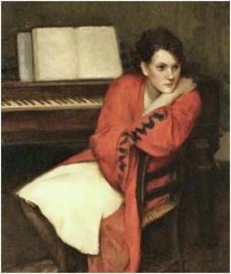 Giai điệu, tranh của Eugene Alexander Montgomery (1905 - 2001).
