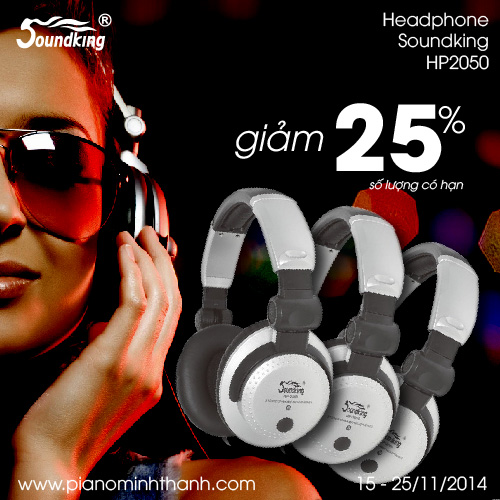 Khuyen mai headphone