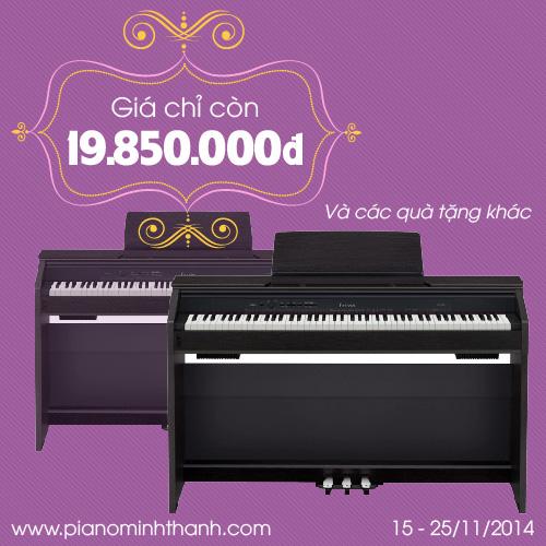 Piano dien casio PX850