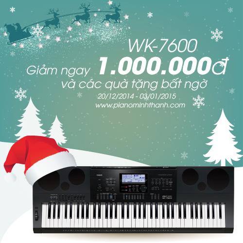Khuyen mai organ WK-7600