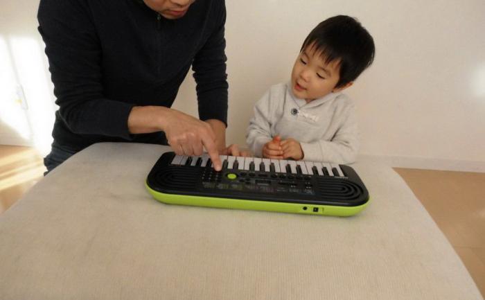 mini keyboard casio SA