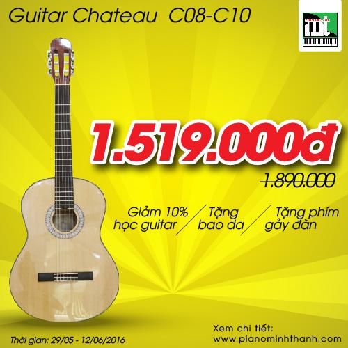 Đàn Guitar Chateau C08-C10