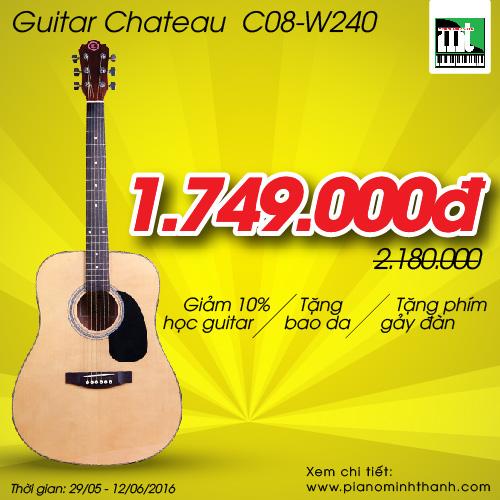 Đàn guitar Chateau C08-W240