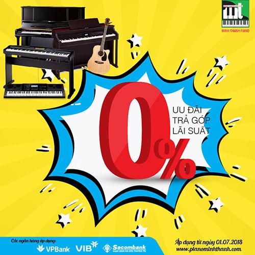 Mua Nhạc Cụ Trả Góp 0% tại Minh Thanh Piano